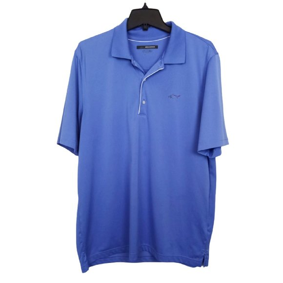 Greg Norman Men's Play Dry Grape Golf Shirt- N1040